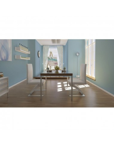 Valgomojo kėdės, 2 vnt., zigzago formos, baltos  | Virtuvės ir Valgomojo Kėdės | duodu.lt