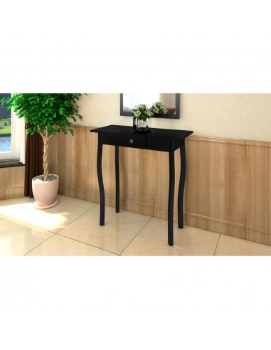 Konsolinis staliukas, MDF, juodos spalvos | Žurnaliniai Staliukai | duodu.lt