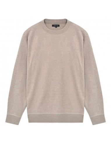 Vyriškas megztinis, apvali apykaklė, smėlio sp., M | Marškiniai ir Palaidinės | duodu.lt