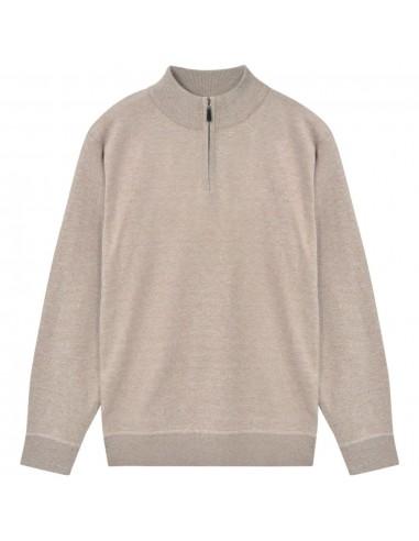 Vyriškas megztinis su užtrauktuku, smėlio sp., M   Marškiniai ir Palaidinės   duodu.lt