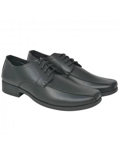 Vyriški batai, suvarstomi, juodi, dydis 40, PU oda   Batai   duodu.lt