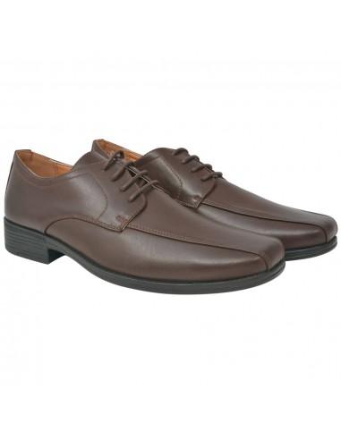 Vyriški batai, suvarstomi, rudi, dydis 45, PU oda   Batai   duodu.lt