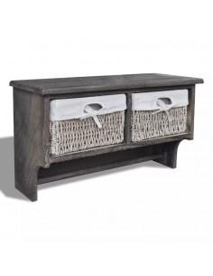 Suoliukas-daiktadėžė, masyvi mediena ir MDF, 120x40x50 cm  | Sandėlio ir Prieangio Suolai | duodu.lt