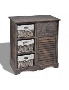 Suoliukas-daiktadėžė, masyvi mediena ir audinys, 120x32x38 cm | Sandėlio ir Prieangio Suolai | duodu.lt