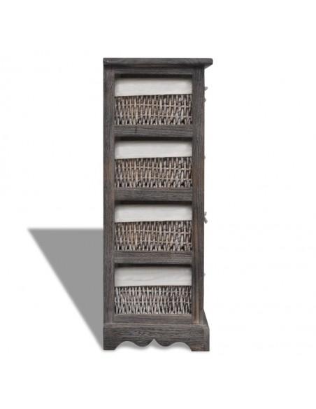 Naktinis staliukas, eglės mediena, 50x35x57cm | Naktiniai Staliukai | duodu.lt