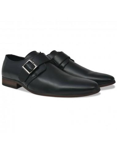 Vyriški batai su sagtimi, juodi, dydis 40, PU oda | Batai | duodu.lt