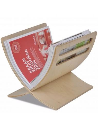 Medinis žurnalų laikiklis, pastatomas, natūralios sp.    Žurnalų laikikliai   duodu.lt