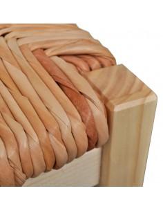 Komoda, perdirbta tikmedžio mediena ir plienas, 65x30x70cm | Bufetai ir spintelės | duodu.lt