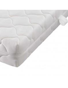 Dirbtinės odos lova su LED juostele, juoda, 200 x 180 cm, čiužinys | Lovos ir Lovų Rėmai | duodu.lt