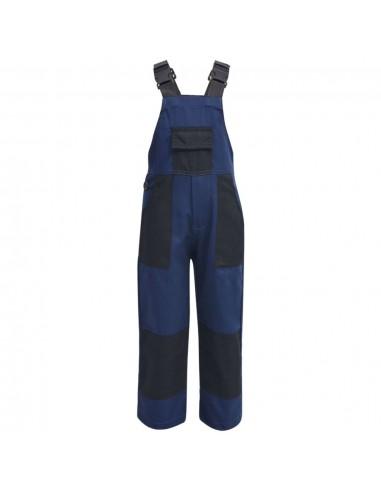 Vaikiškas darbinis kombinezonas, dydis 98/104, mėlynas   Darbinės kelnės ir kombinezonai   duodu.lt