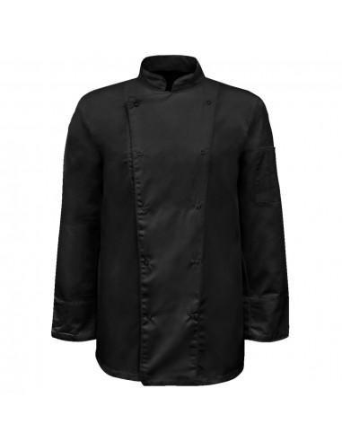 Virėjo švarkai, 2 vnt., ilgos rankovės, dydis XL, juodi | Virėjų švarkai | duodu.lt