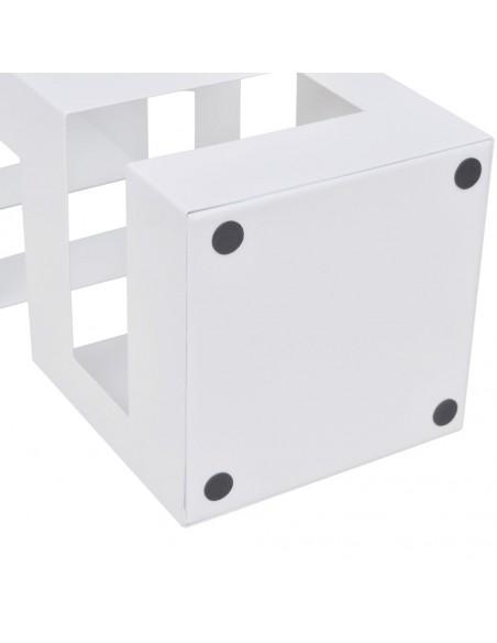 Sodo stalas su 2 suoliukais, HDPE, juod., ratano imitacija, 180cm  | Lauko Baldų Komplektai | duodu.lt