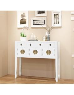 Medinio baro staliuko ir 4 baro kėdžių komplektas, baltas  | Virtuvės ir Valgomojo Baldų Komplektai | duodu.lt
