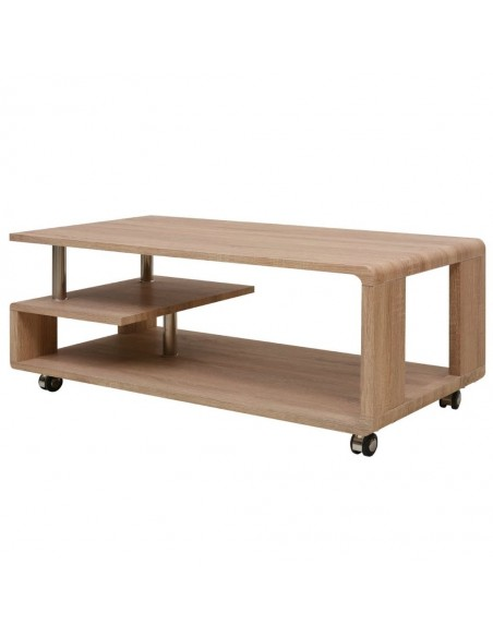 Nakt. staliukai, 2 vnt., su stalčiu, 55 cm, masyvi akac. med.  | Naktiniai Staliukai | duodu.lt