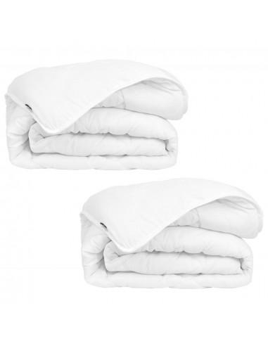 Žiemos, visų sezonų antklodės, 2 vnt., 135x200 cm, baltos   Dygsniuotos ir pūkinės antklodės   duodu.lt