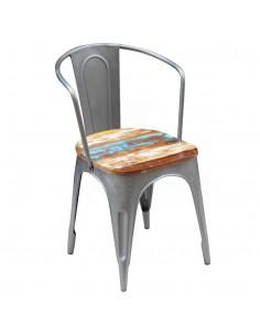 Valgomojo kėdė, 6vnt., dirbtinė oda, masyvi mediena, balta | Virtuvės ir Valgomojo Kėdės | duodu.lt