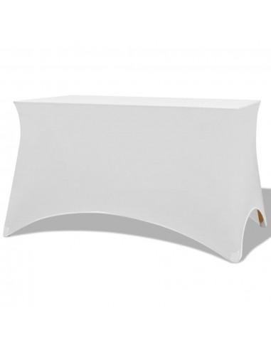Tamprios staltiesės, 2 vnt., 243x76x74 cm, baltos | Baldų Užvalkalai | duodu.lt