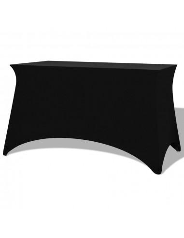 Tamprios staltiesės, 2 vnt., 243x76x74 cm, juodos | Baldų Užvalkalai | duodu.lt
