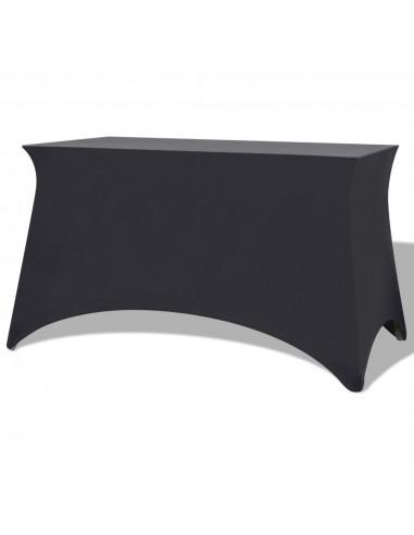 Tamprios staltiesės, 2 vnt., 243x76x74 cm, antracito sp.   Baldų Užvalkalai   duodu.lt