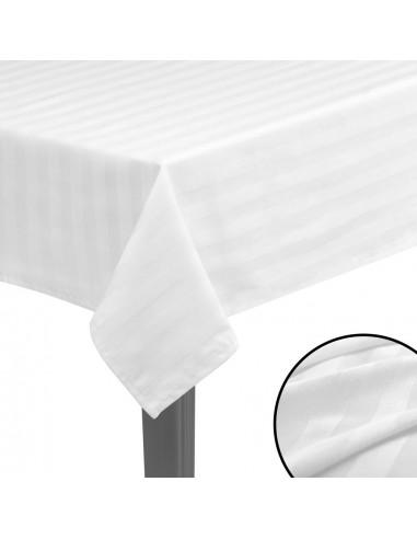 Staltiesės, 5vnt., medvilnės sat., baltos spalvos, 100x100cm | Baldų Užvalkalai | duodu.lt