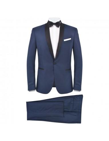 Vyriškas kostiumas/smokingas, 2 d., 48 dydis, tams. mėlyn. sp. | Kostiumai | duodu.lt