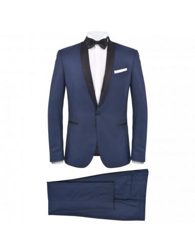 Vyriškas kostiumas/smokingas, 2 d., 56 dydis, tams. mėlyn. sp.   Kostiumai   duodu.lt