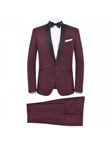 Vyriškas kostiumas/smokingas, 2 dalys, 46 dydis, vyšninės sp.   Kostiumai   duodu.lt