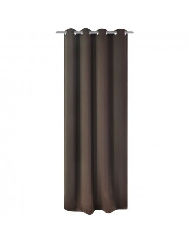 Naktinės užuolaidos su metalinėmis kilpelėmis, 270x245cm, ruda   Dieninės ir Naktinės Užuolaidos   duodu.lt