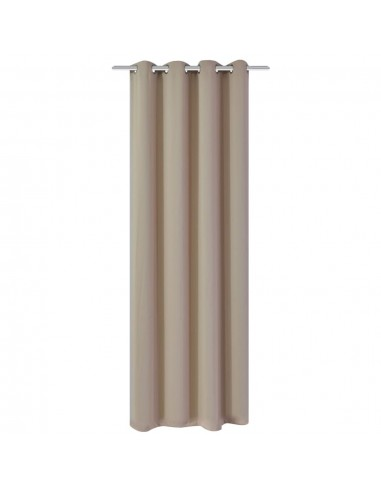 Naktinės užuolaidos su metalinėmis kilp., 270x245cm, kreminės | Dieninės ir Naktinės Užuolaidos | duodu.lt