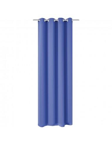 Naktinės užuolaidos su metalinėmis kilp., 270x245cm, mėlynos   Dieninės ir Naktinės Užuolaidos   duodu.lt