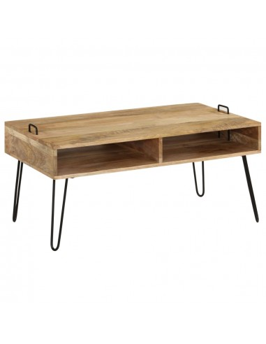 Kavos staliukas, mango medienos masyvas, 100x60x45cm   Kavos Staliukai   duodu.lt