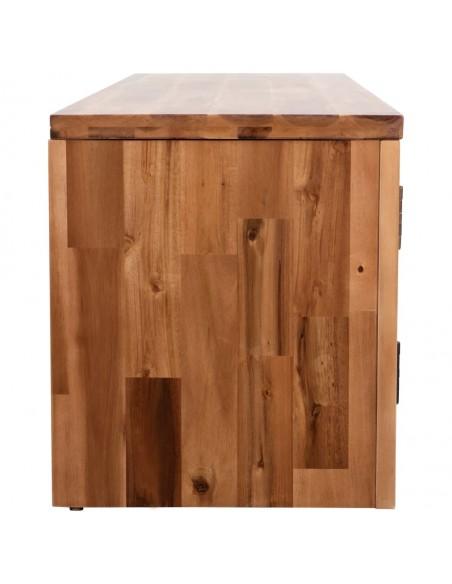 Impregnuota, dvivietė šiukšlių konteinerių stoginė, medinė, 240 l | Aptvarai atliekų konteineriams | duodu.lt