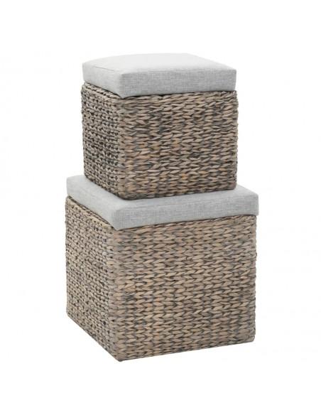 WPC tvoros segmentas, kvadratinis, pilkas | Tvoros Segmentai | duodu.lt