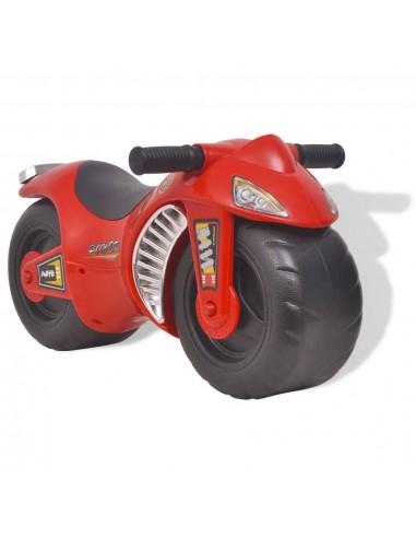 Vaikiškas Motociklas, Plastmasinis, Raudonas   Stumiamos ir Pedalais Minamos Transporto Priemonės   duodu.lt