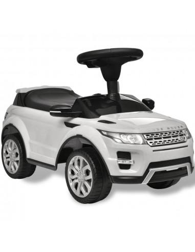 Land Rover 348 Vaikiškas Automobilis su Muzika, Baltas   Stumiamos ir Pedalais Minamos Transporto Priemonės   duodu.lt