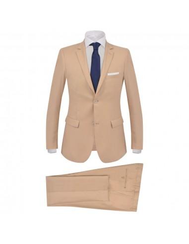 Vyriškas verslo kostiumas, 2d., smėlio spalvos, 52 dydis | Kostiumai | duodu.lt