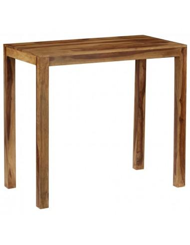 Baro stalas, rausv. dalberg. med. masyvas, 118x60x107cm | Virtuvės ir Valgomojo Stalai | duodu.lt