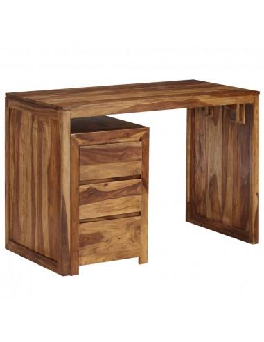 Rašomasis stalas, raus. dalberg. med. masyvas, 110x55x76cm | Rašomieji Stalai | duodu.lt