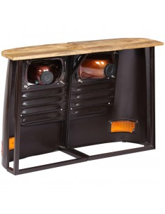 Iškylos stalas, bambukas, 120x120x78 cm    Lauko Staliukai   duodu.lt