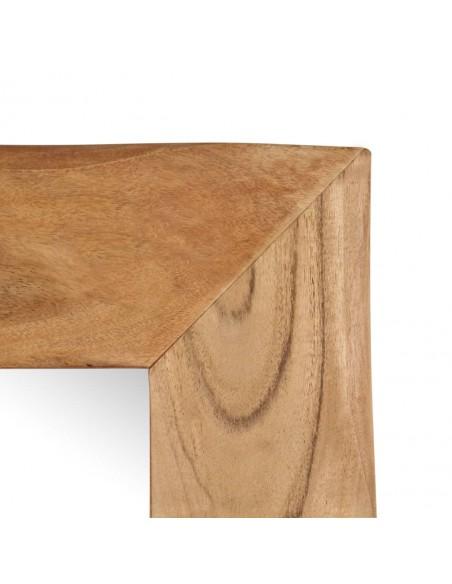 Supamas sodo suoliukas su stogeliu, eukalipto, akacijos mediena | Sodo Sūpynės | duodu.lt