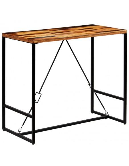 Lauko pietų stalas, poliratanas, 150x90x75 cm, juodas | Lauko Staliukai | duodu.lt