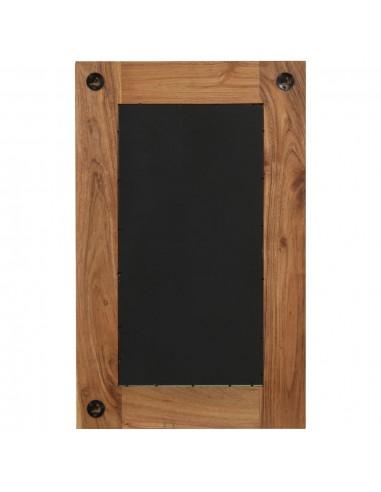 Lauko stalas, poliratanas, akacijos stalviršis, 90x90x75 cm | Lauko Staliukai | duodu.lt