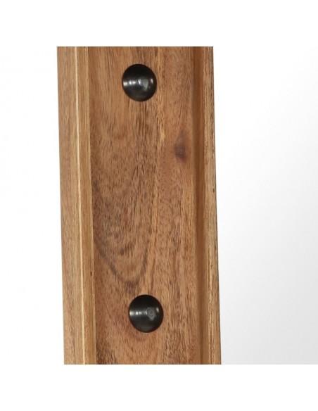 Lauko stalas, poliratanas, akacijos med. stalvirš. 150x90x75 cm | Lauko Staliukai | duodu.lt