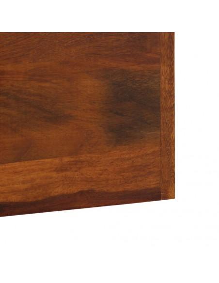 Saulės gultų komplektas, 13 dalių, polirat., apv., 230 cm, rudas  | Šezlongai | duodu.lt