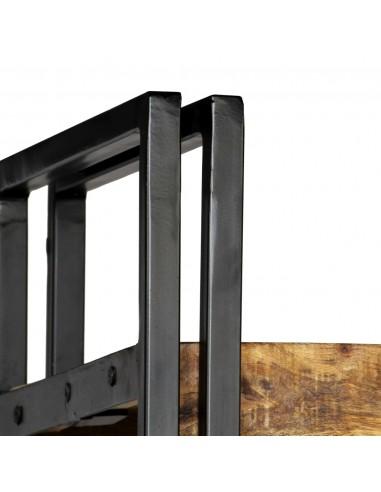 Sulankstomas sodo suoliukas su staliuku, akacijos mediena | Lauko Suolai | duodu.lt