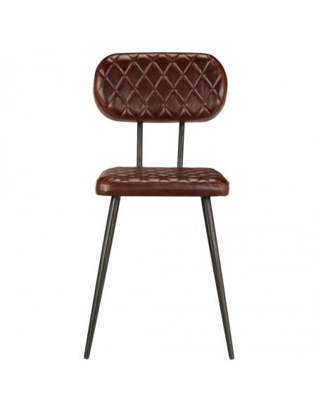Krėslas, sintetinis ratanas, 65x65x73 cm, rudas  | Lauko Kėdės | duodu.lt