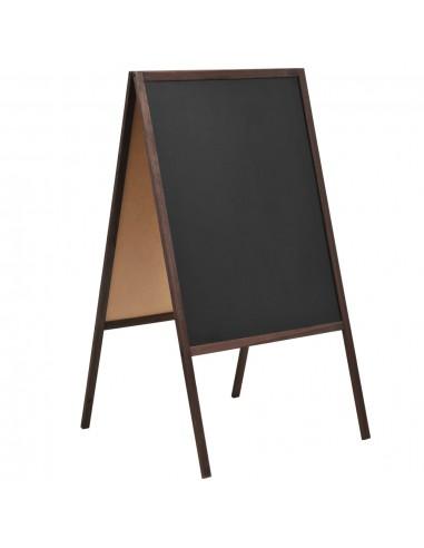 Dvipusė lenta, kedro mediena, laisvai pastatoma, 60x80cm | Rašymo Lentos | duodu.lt