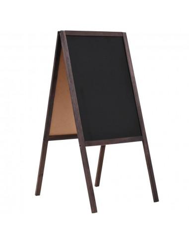 Dvipusė lenta, kedro mediena, laisvai pastatoma, 40x60cm | Rašymo Lentos | duodu.lt