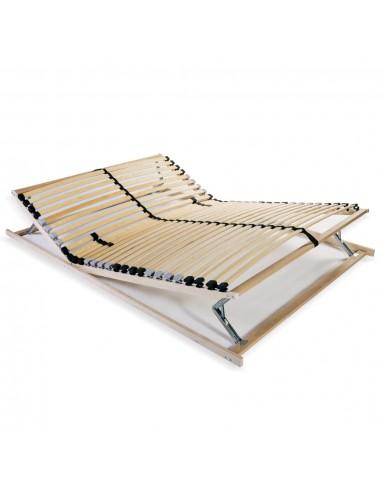 Grotelės lovai su 28 lentjuostėmis, 7 zonos, 140x200cm   Lovos ir Lovų Rėmai   duodu.lt