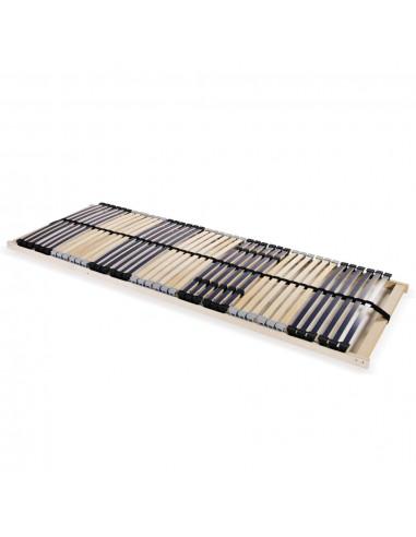 Grotelės lovai su 42 lentjuostėmis, 7 zonos, 80x200cm | Lovos ir Lovų Rėmai | duodu.lt